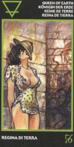 Королева Земли (Денариев) Эротическое Таро Манара