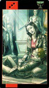 Королева Кубков Готическое Таро Вампиров