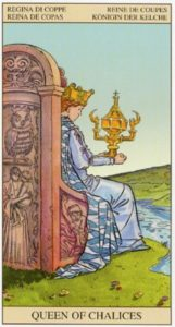 Королева Кубков TAROT of the NEW VISION