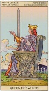 Королева Мечей TAROT of the NEW VISION