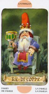 Король Кубков Таро Гномов