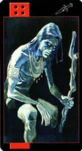 Король Мечей Готическое Таро Вампиров