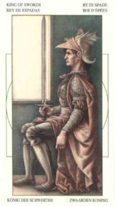 Король Мечей Таро Леонардо Leonardo da Vinci Tarot