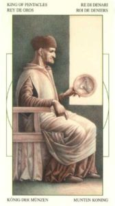 Король Монет Таро Леонардо Leonardo da Vinci Tarot