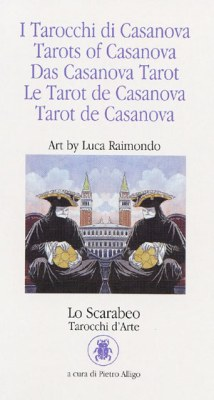Обложка колоды Таро Казановы Tarots of Casanova