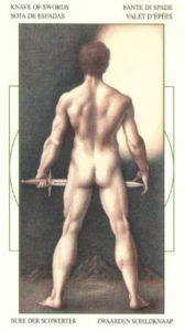 Паж Мечей Таро Леонардо Leonardo da Vinci Tarot