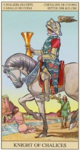 Рыцарь Кубков TAROT of the NEW VISION