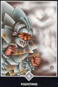 Рыцарь Облаков Борьба Ошо Дзен Таро
