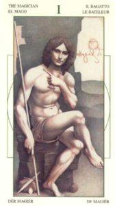 1 Маг Таро Леонардо Leonardo da Vinci Tarot
