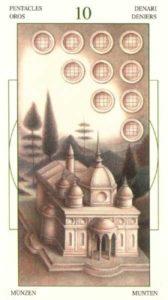 10 Монет Таро Леонардо Leonardo da Vinci Tarot