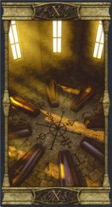 10 Колесо Фортуны Таро Вечная Ночь Вампиров