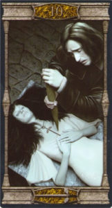 10 Мечей Таро Вечная Ночь Вампиров