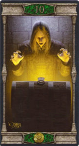 10 Пентаклей Таро Вечная Ночь Вампиров