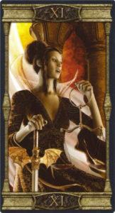 11 Правосудие Таро Вечная Ночь Вампиров