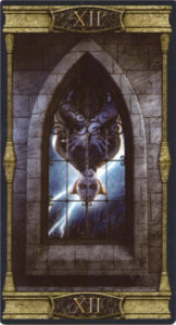 12 Повешенный Таро Вечная Ночь Вампиров