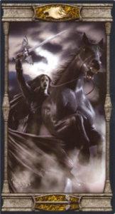 Рыцарь Мечей Таро Вечная Ночь Вампиров