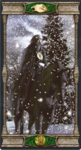 Рыцарь Пентаклей Таро Вечная Ночь Вампиров