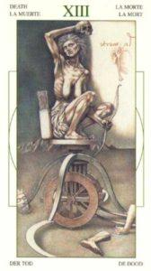13 Смерть Таро Леонардо Leonardo da Vinci Tarot