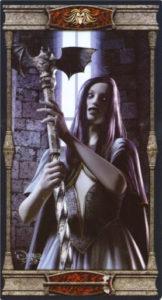 Королева Жезлов Таро Вечная Ночь Вампиров
