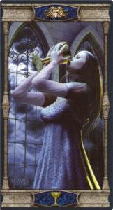 Королева Кубков Таро Вечная Ночь Вампиров