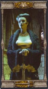 Королева Мечей Таро Вечная Ночь Вампиров