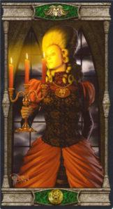 Королева Пентаклей Таро Вечная Ночь Вампиров