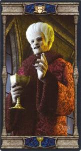 Король Кубков Таро Вечная Ночь Вампиров