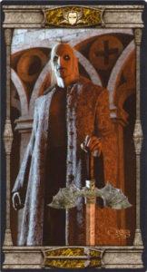 Король Мечей Таро Вечная Ночь Вампиров