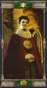 Король Пентаклей Таро Вечная Ночь Вампиров