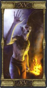 15 Дьявол Таро Вечная Ночь Вампиров