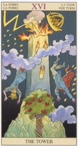 16 Башня TAROT of the NEW VISION