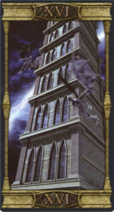 16 Башня Таро Вечная Ночь Вампиров