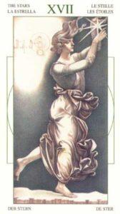 17 Звезда Таро Леонардо Leonardo da Vinci Tarot