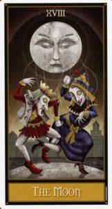 18 Луна Таро Девиантной Безумной Луны Deviant Moon Tarot