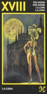18 Луна Эротическое Таро Манара
