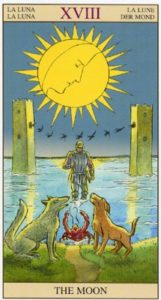 18 Луна TAROT of the NEW VISION