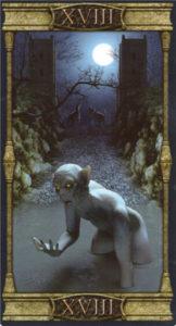18 Луна Таро Вечная Ночь Вампиров