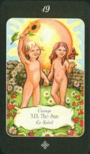 19 Солнце Таро эры Водолея