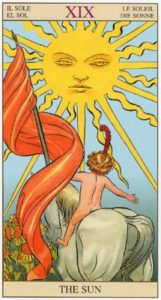 19 Солнце TAROT of the NEW VISION