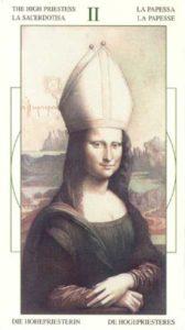 2 Верховная Жрица Таро Леонардо Leonardo da Vinci Tarot