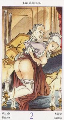 2 Жезлов Таро Казановы Tarots of Casanova