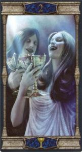 2 Кубков Таро Вечная Ночь Вампиров