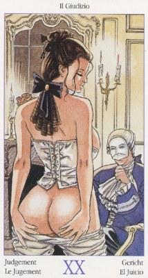20 Суд Таро Казановы Tarots of Casanova