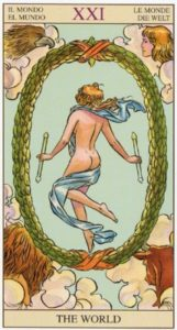 21 Мир TAROT of the NEW VISION
