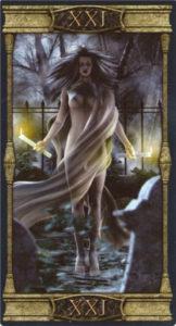 21 Мир Таро Вечная Ночь Вампиров