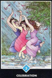 3 Воды Празднование Ошо Дзен Таро