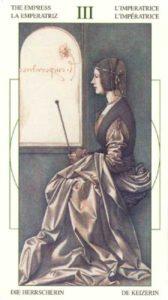 3 Императрица Таро Леонардо Leonardo da Vinci Tarot