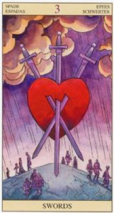 3 Мечей TAROT of the NEW VISION