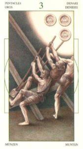 3 Монет Таро Леонардо Leonardo da Vinci Tarot