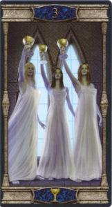 3 Кубков Таро Вечная Ночь Вампиров
